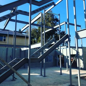 Immanuel Structural Steel Stairs