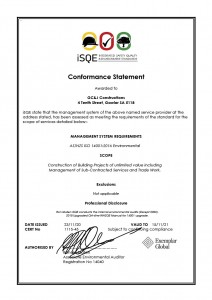 Environment ISO 14001 Certificate1024_1